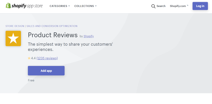 ShopifyアプリProduct Reviews